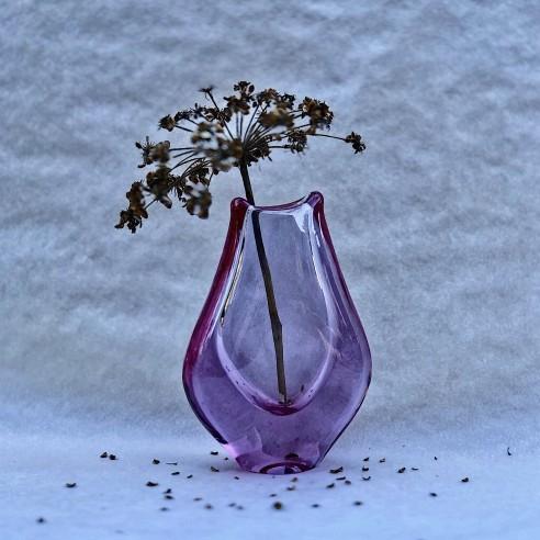 Miloslav Klinger - fialová váza