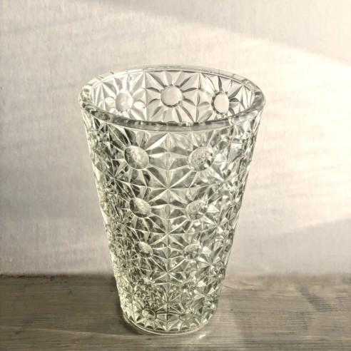 váza z lisovaného skla