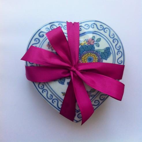 dóza - porcelánové srdce