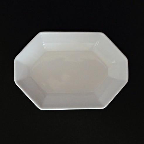 bílá porcelánová miska