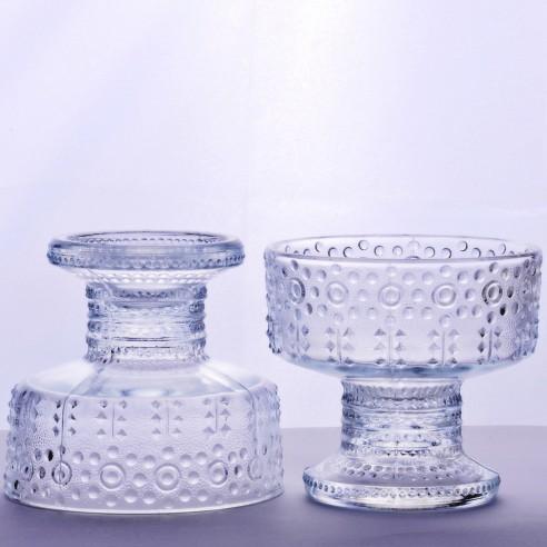 skleněné poháry