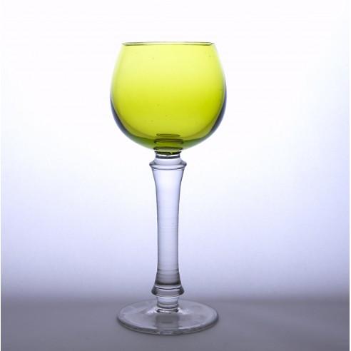 sklenka na víno zelená