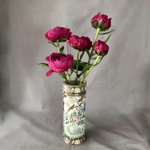 ručně malovaná čínská váza